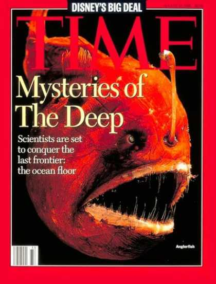 Time - Mysteries of the Deep - Aug. 14, 1995 - Fish - Animals - Environment