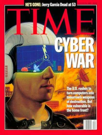 Time - Cyber War - Aug. 21, 1995 - Internet - Computers - Military - Science & Technolo