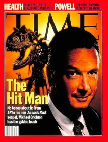 Time - Michael Crichton - Sep. 25, 1995 - Movies - Books