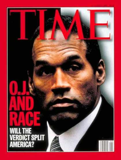 Time - O.J. Simpson - Oct. 9, 1995 - Crime - Domestic Violence