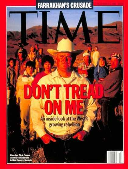 Time - Dick Carver - Oct. 23, 1995 - Ranchers - Business