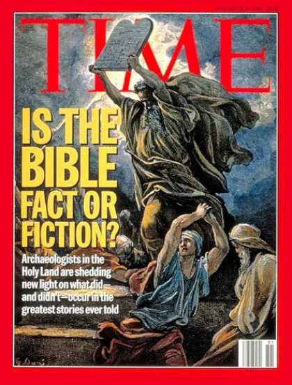 Time - Is the Bible Fact or Fiction? - Dec. 18, 1995 - Religion