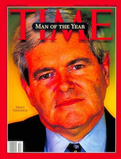 newt gingrich man of the year time. Newt Gingrich, Man of the Year