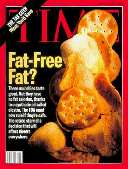 Time - Jan. 8, 1996 - Food - Diets - Fitness - Health & Medicine