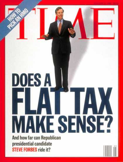 Time - Steve Forbes - Jan. 29, 1996 - Economy - Politics