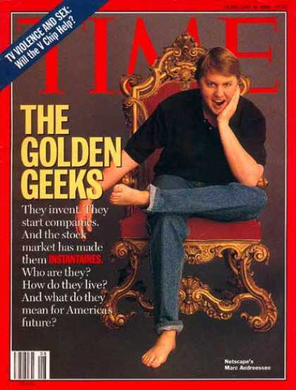 Time - Netscape's Marc Andreessen - Feb. 19, 1996 - Computers - Internet - Science & Te