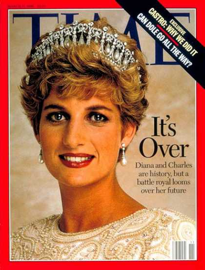 Time - Princess Diana - Mar. 11, 1996 - Great Britain - Royalty