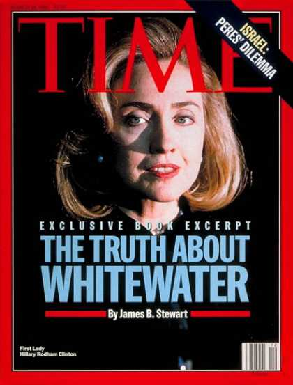 Time - Hillary Rodham Clinton - Mar. 18, 1996 - Hillary Clinton - First Ladies - Politi