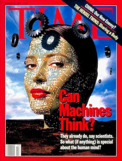 Time - Can Machines Think? - Mar. 25, 1996 - Computers - Machines