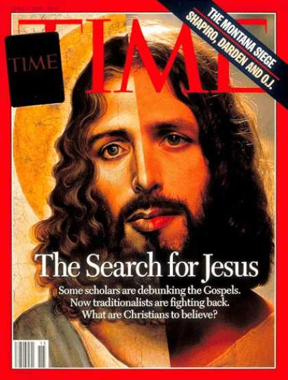 Time - Search for Jesus - Apr. 8, 1996 - Jesus - Christianity - Religion
