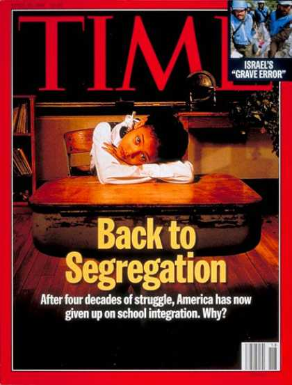 Time - Back to Segregation - Apr. 29, 1996 - Social Issues - Segregation - Civil Rights
