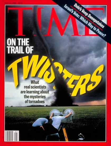Time - Twisters - May 20, 1996 - Natural Disasters - Weather - Tornados - Environment