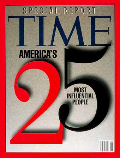 Time - America's 25 Most Influential People - June 17, 1996 - Society