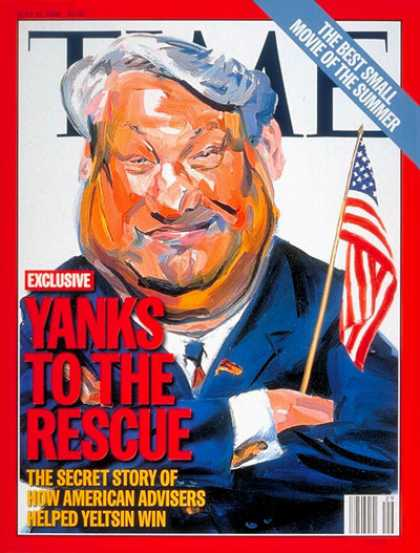 Time - Boris Yeltsin - July 15, 1996 - Russia