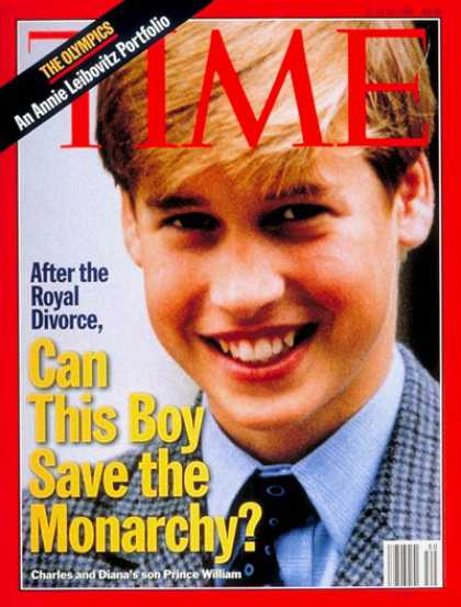 Time - Prince William - July 22, 1996 - Great Britain - Royalty