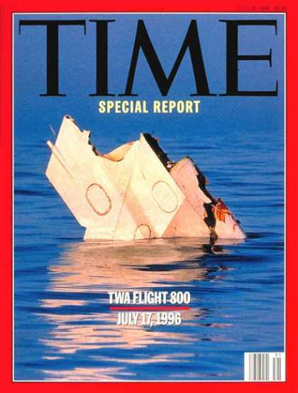 Time - TWA Flight 800 - July 29, 1996 - Disasters - Travel - Aviation - Air Safety - Ai
