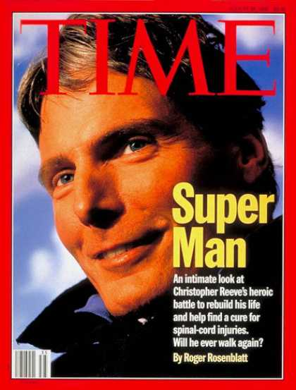 Time - Christopher Reeve - Aug. 26, 1996 - Actors - Movies - Health & Medicine