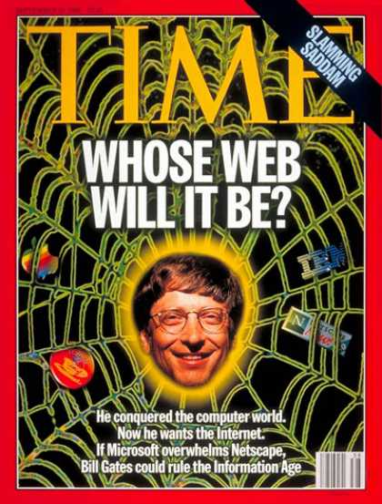 Time - Bill Gates - Sep. 16, 1996 - Microsoft - Computers - Science & Technology