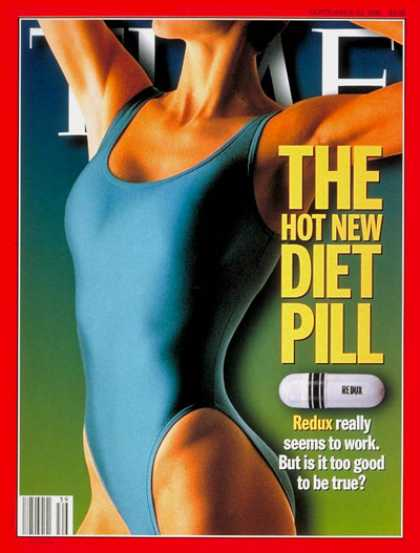 Time - Diet Pill - Sep. 23, 1996 - Medications - Diets - Health & Medicine - Pharmaceut