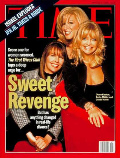 Time - Diane Keaton, Bette Midler, Goldie Hawn - Oct. 7, 1996 - Diane Keaton - Bette Mi