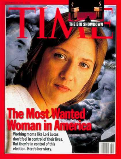 Time - Working Mom Lori Lucas - Oct. 14, 1996 - Women - Parenting - Society