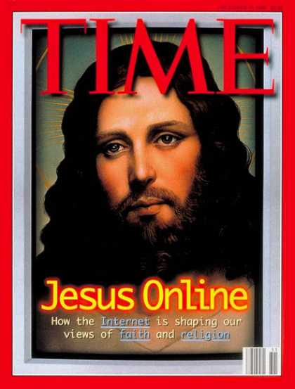Time - Jesus Online - Dec. 16, 1996 - Jesus - Christianity - Religion - Computers - Int