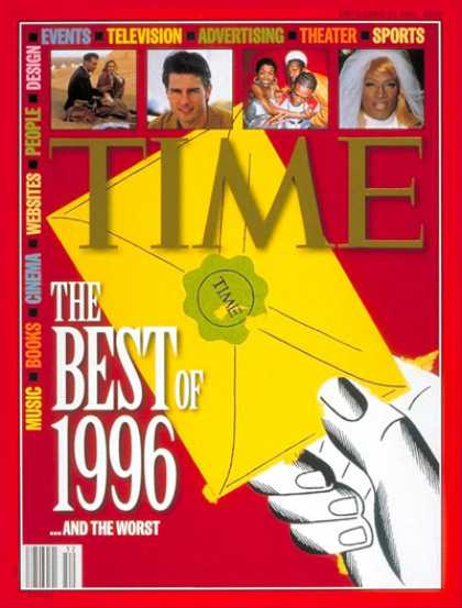 Time - Best of '96 - Dec. 23, 1996 - Special Issues