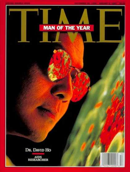 Time - Dr. David Ho, Man of the Year - Dec. 30, 1996 - Person of the Year - AIDS - Dise