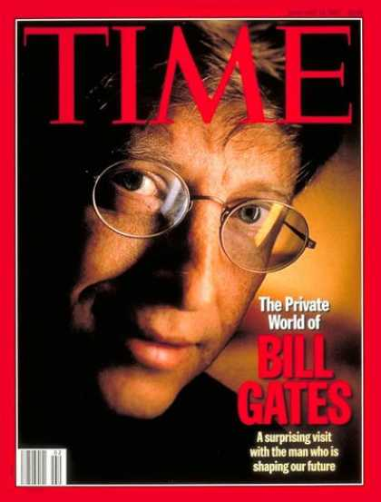 Time - Bill Gates - Jan. 13, 1997 - Microsoft - Computers - Science & Technology