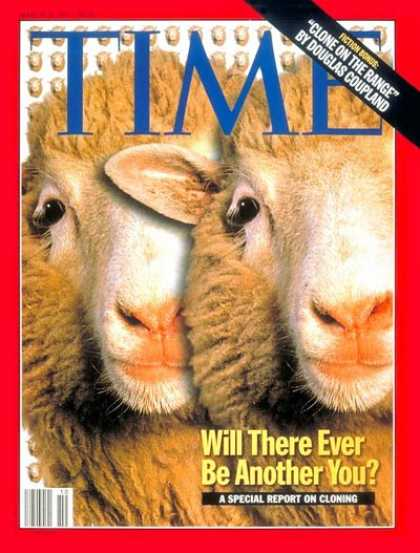 Time - Dolly, Cloned Sheep - Mar. 10, 1997 - Genetics - DNA - Animals - Health & Medici