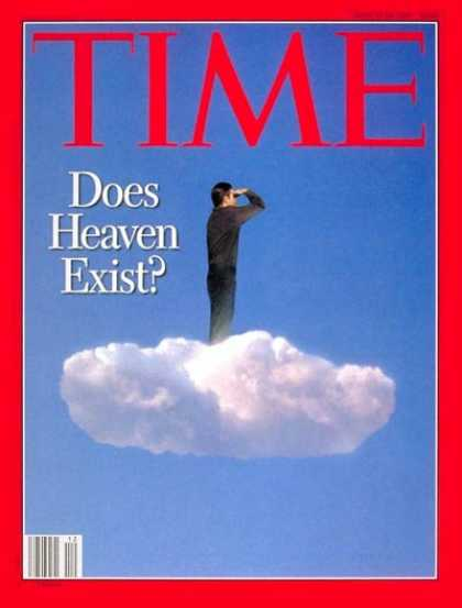 Time - Does Heaven Exist? - Mar. 24, 1997 - Education - Religion - Society