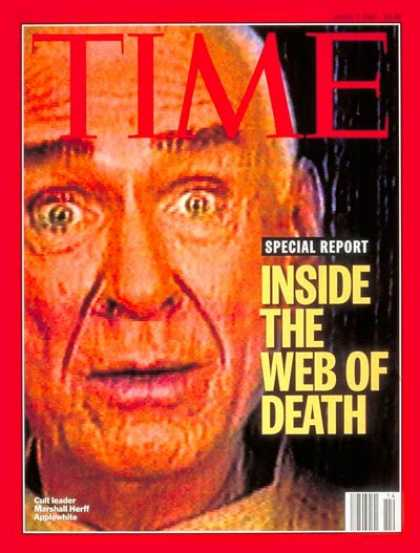 Time - Marshall Applewhite - Apr. 7, 1997 - Cults - Death