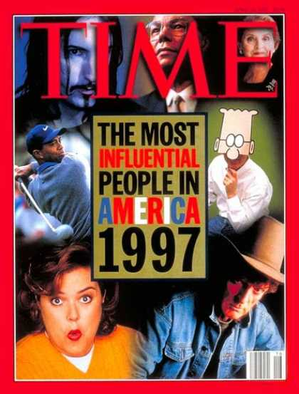 Time - America's 25 Most Influential People - Apr. 21, 1997 - Special Issues - Society