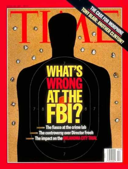 Time - What's Wrong With the FBI? - Apr. 28, 1997 - Law Enforcement - FBI
