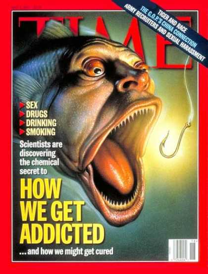 Time - How We Get Addicted - May 5, 1997 - Drug Abuse - Alcohol Abuse - Tobacco - Smoki