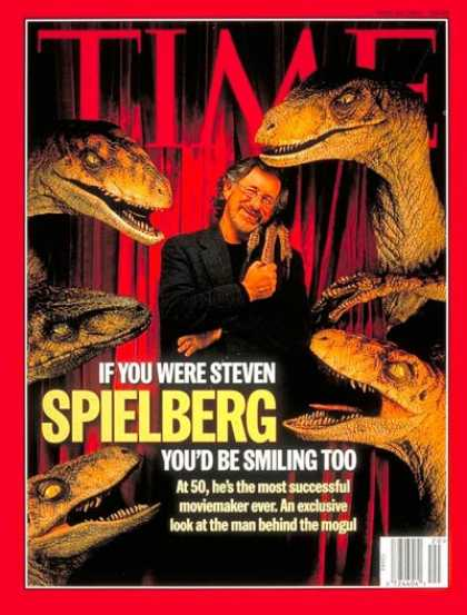 Time - Steven Spielberg - May 19, 1997 - Directors - Movies