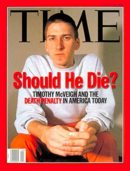 Time - Timothy McVeigh - June 16, 1997 - Crime - Oklahoma City - Terrorism