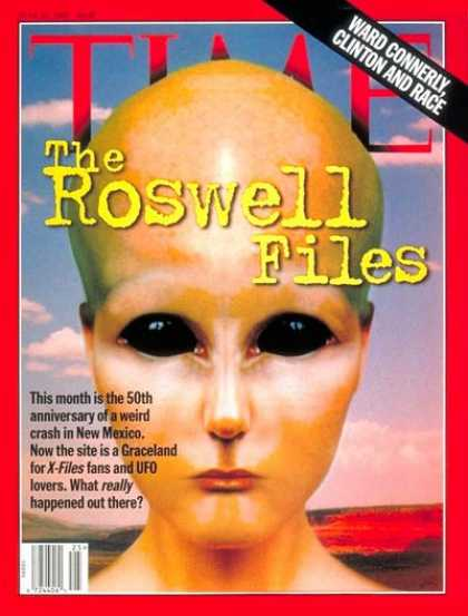 Time - Roswell Files - June 23, 1997 - Space Exploration - Science Fiction