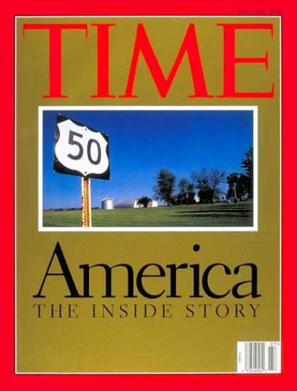 Time - America - The Inside Story - July 7, 1997 - Society