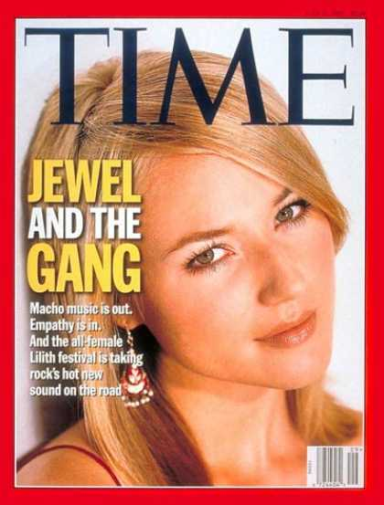 Time - Jewel and the New Women of Rock - July 21, 1997 - Rock - Singers - Music