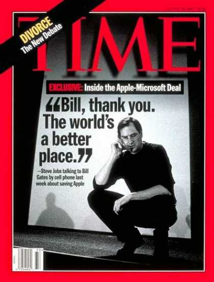 Time - Steve Jobs - Aug. 18, 1997 - Science & Technology - Business - Computers - Apple