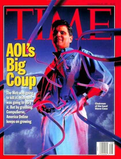 Time - Steve Case - Sep. 22, 1997 - Science & Technology - AOL - Computers - Business