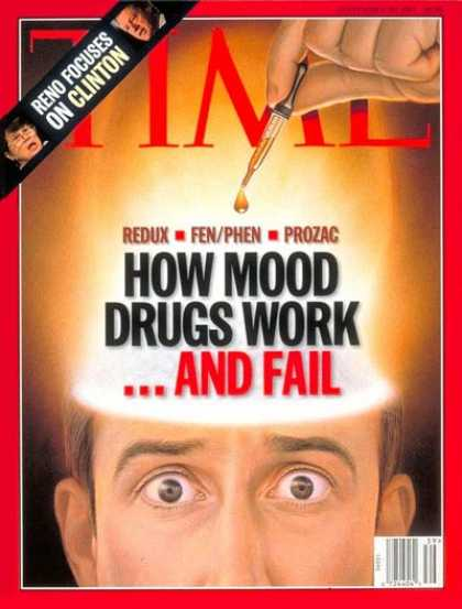 Time - How Mood Drugs Work...And Fail - Sep. 29, 1997 - Medications - Emotions - Health