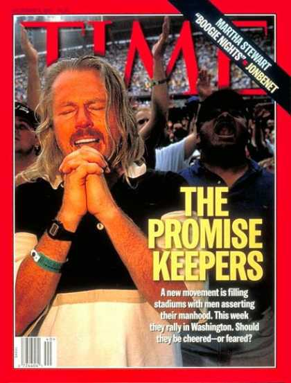 Time - The Promise Keepers - Oct. 6, 1997 - Religion - Society