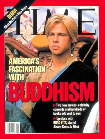 Time - Brad Pitt - Oct. 13, 1997 - Religion - Buddhism - Movies - Actors