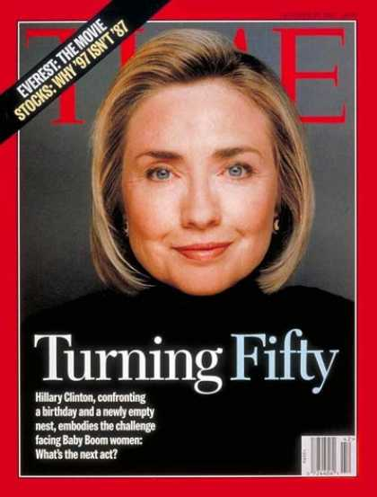 Time - Hillary Rodham Clinton - Oct. 20, 1997 - Hillary Clinton - First Ladies - Politi