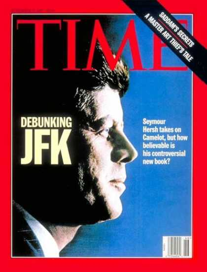 Time - John F. Kennedy - Nov. 17, 1997 - U.S. Presidents - Kennedys - Politics