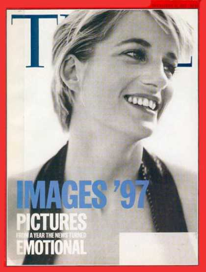 Time - Diana, Princess of Wales - Dec. 22, 1997 - Princess Diana - Great Britain - Roya