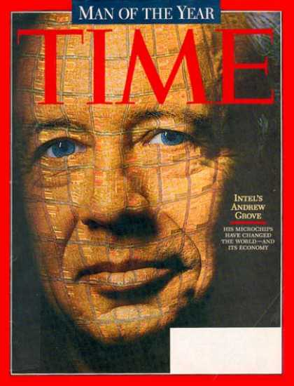 Time - Andrew Grove, Man of the Year - Dec. 29, 1997 - Person of the Year - Science & T
