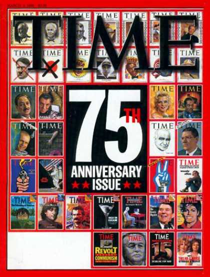 Time - TIME's 75th Anniversary - Mar. 9, 1998 - TIME - Anniversaries - Special Issues